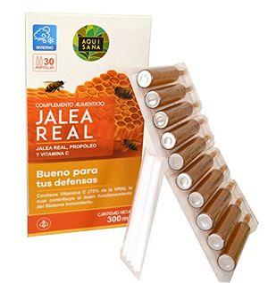 Comprar Jalea real con propóleo para mayor energía y vitalidad – Jalea con própolis y vitamina C para reforzar nuestro sistema inmune – 30 ampollas con el envío libre
