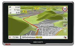 Angebote für -becker active6s ce navigationsgerät 158 cm 62 zoll kapazitives echtglasdisplay 20 länder lebenslange kartenupdates tmc blitzerwarner schwarz