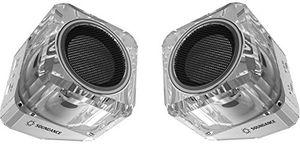 Top soundance® bluetooth lautsprecher mit bluetooth 41 tws echte drahtlose stereo edr erhöhte datenrate und vollen sound lautsprecher zwei lautsprecher können einen links und rechts dual channel drahtlosen stereo system erstellen weiß