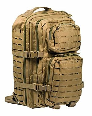 deals for - us assault pack large laser cut coyote