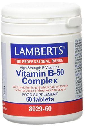 Buy Lamberts Vitamina B-50 Complex - 60 Tabletas opinión