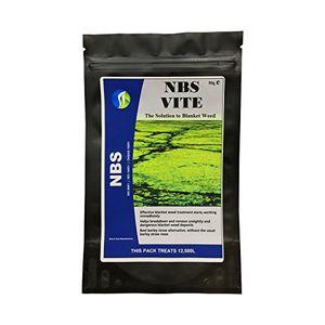 Angebote für -teich decke unkraut entferner nbs vite 1 packung string algen behandlung behandelt bis zu 2500 liter