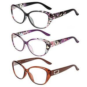 ofertas para - liansan 3pack para hombre para mujer vintage fashion de grandes gafas de lectura 101251517520225250275303253537540
