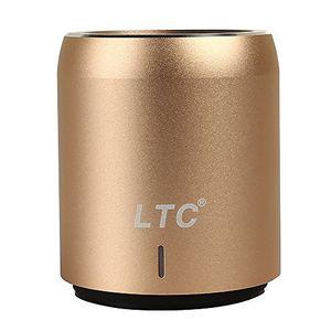 deals for - ltc mini tragbar wireless bluetooth 41 super bass stereo hifi 35mm nfc 360 grad ton led csr chip usb wifi speaker lautsprecher mp3 player gold