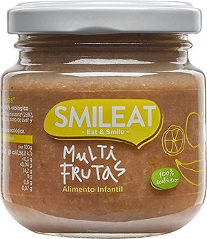 Smileat Tarrito de Multifrutas - Paquete de 12 x 130 gr - Total: 1560 gr Mejor oferta