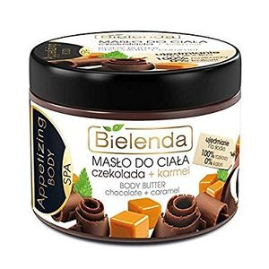 Buy Bielenda CHOCOLATE & CARMEL Toning & Moisturising Body Butter 200ml - Effectively Regenerates Renews & Protects Against Excessive Skin Drying - enriched with Almond Oil ofertas de hoy