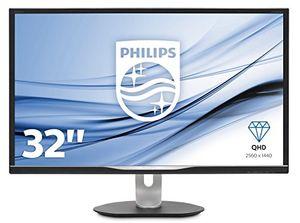 Angebote für -philips bdm3270qp200 81 cm 32 zoll monitor vga dvi hdmi displayport usb hub 5ms reaktionszeit 2560 x 1440 60 hz pivot schwarz