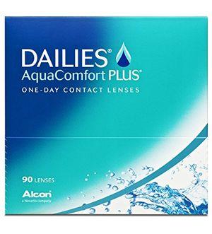 ofertas para - dailies aqua comfort plus lentes de contacto esféricas diarias r 87 d 14 2 diop pack de 90 uds