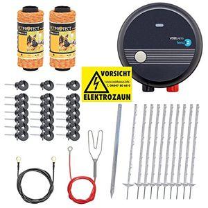 deals for - elektrozaun komplettset 230 v mit netzgerät fenci m05 von vosspet weidezaun elektrozaun