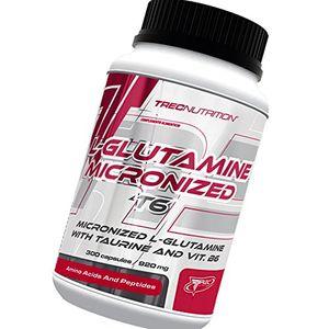 ofertas para - l glutamina t6 300 caps aumentar el crecimiento muscular y la recuperación combinación avanzada de l glutamina y taurina trec nutrition