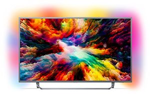 deals for - philips 43pus730312 108 cm 43 zoll led fernseher ambilight 4k ultra hd triple tuner smart fernseher