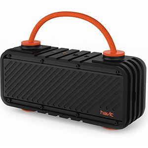 Angebote für -havit m22 bluetooth lautsprecher mit 20w dual treiber reinem bass 20 st spielzeit 20m reichweite ipx5 wasserdicht outdoor lautsprecher mit diy griff kabellose box für iphone huawei samsung