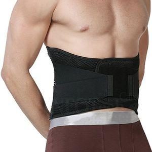 Comprar Apoyo lumbar con fuertes tirantes de doble banda, Faja para la Cintura / Espalda / Zona lumbar - Marca NEOtech Care ( TM ) - Color Negro - Talla XL con el envío libre