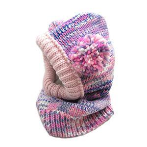 kauftree baby kinder schlupfmütze schalmütze strickmütze sturmhaube mütze winter mädchen m 52 54cm