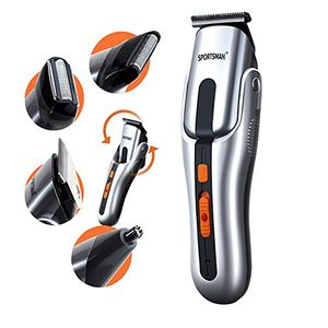 ofertas para - winlink 4 en 1 kit de pelo eléctrica de la preparación profesional del cuerpo de epilator del oído de la nariz barba máquina de afeitar del condensador de ajuste del pelo del peluquero corte de la máquina
