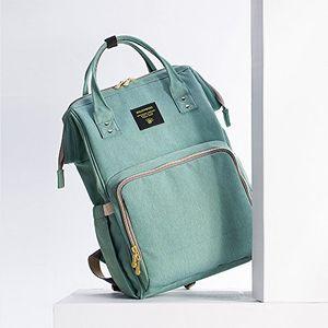 ofertas para - sunveno mochila de pañales bolsa de cambio de pañales multifunción impermeable bolsa de pañales de bebé para mamá verde