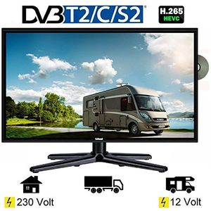 deals for - gelhard gtv 2262 led fernseher 22 zoll tv dvd dvb ss2tt2c 23012 volt