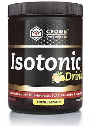 Cheap Crown Sport Nutrition Isotonic Drink, Bebida isotónica con carbohidratos, BCAAs, glutamina y electrolitos para deportistas, Sabor de Limón Fresco - 640 gr Hot oferta