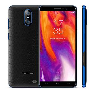 deals for - homtom s12 2018 3g smartphone billig ohne vertrag 50 zoll 18 9 display 25d android 60 mt6580 quad core dual sim 1gb ram8gb rom 8mp2mp5mp kameras schwarzblau