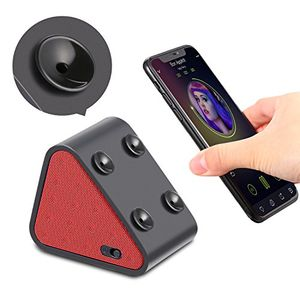 Angebote für -bluetooth lautsprecher boxen jocund dreieck mini saugnäpfe sound box musikbox mit bluetooth für handy smartphone ständer halterung pc lautsprecher 8 stunde spielzeit rot