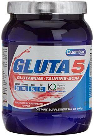 Reseña Quamtrax Nutrition Gluta 5 de Sabor Fresa Frambuesa - 800 gr Guía