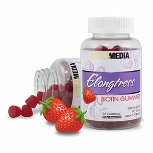 ofertas para - gomitas biotina 5000 mcg por porción 90 gomitas por botella la biotina ayuda al crecimiento del cabello crecer el pelo más largo con vitaminas biotina