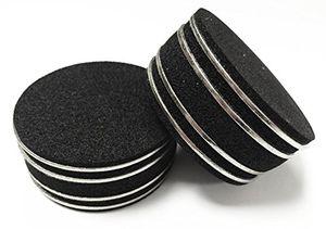Buy media seller® ab2 resonanz shock absorber für hifi lautsprecher und subwoofer 4 stück farbe chromschwarz