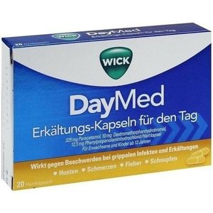 wick daymed erkältungs kapseln 20 st