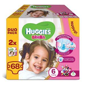 Inicio Huggies - Bimba - Pañales - Talla 6 (15 - 30 kg) - 2 x 34 pañales guía del comprador