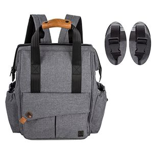 ofertas para - allcamp mochila de pañales para mamá estilo versátil resistente al agua bolsa de pañales para bebés gran capacidad de pañales cambiador de bolsa organizador de cochecito con cambiar de mat