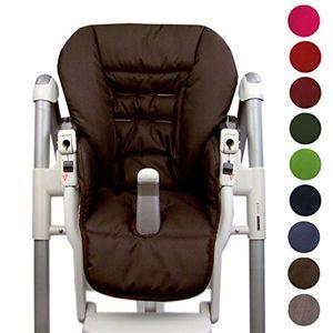 ofertas para - bambiniwelt cojín de asiento funda de repuesto para trona peg perego prima pappa diner 9colores marrón marrón