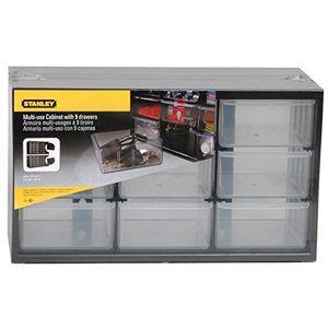 Angebote für -stanley kleinteilemagazin sortimentskasten 37x21x16cm mit neun schubladen bruchfester kunststoffrahmen transparente schubladen geeignet für wandmontage 1 93 978