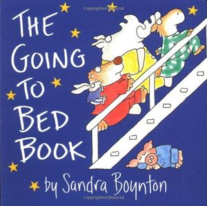 the going to bed book boynton board books