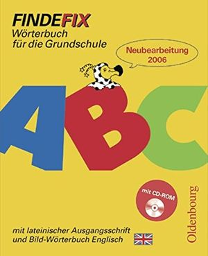 findefix deutsch bisherige ausgabe wörterbuch mit lateinischer ausgangsschrift mit bild wörterbuch englisch und cd rom