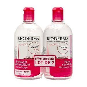 Inicio Bioderma Crealine H2O Micela solución 2X 500ML ofertas especiales