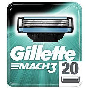 Comprar Gillette Mach3 Cuchillas de Afeitar para Hombre - 20 unidades Guía
