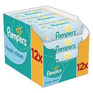 ofertas para - pampers fresh clean toallitas húmedas 12 x 64 toallitas
