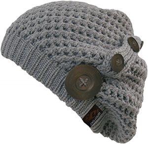 Hot neu original chillouts wintermütze nelly hat 8 farben wählbar amazon prime versand typnelly 02 grey