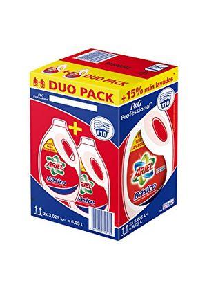 ofertas para - ariel detergente basico líquido pack 2 x 3025 110 lavados