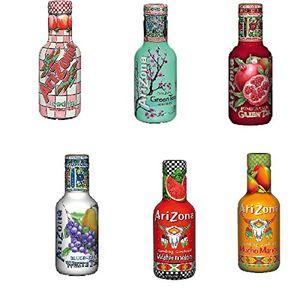 6 pet flaschen a 05l arizona ice tea mix 6 sorten eistee inc pfand