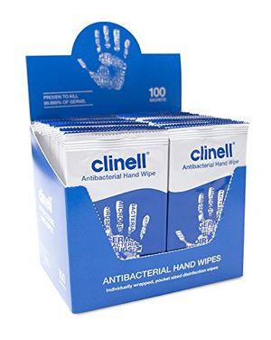 ofertas para - nrs healthcare m46456 paquete de 100 toallitas antibacterianas color blanco