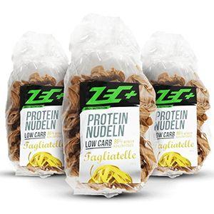 Cheap zec protein low carb nudeln 3er pack leckere und kalorienarme pasta mit proteinen sehr wenige kohlenhydraten low carb hoher ballaststoffanteil 3x 250g