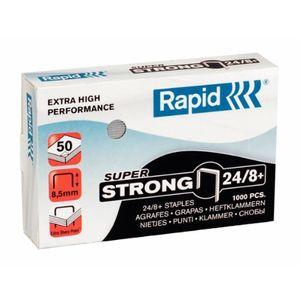 Top rapid heftklammern 248 mm super strong verzinkt 1000 stück