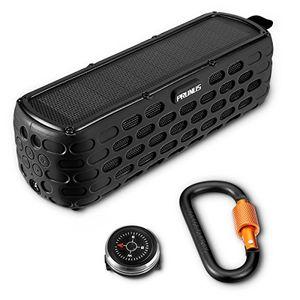 photos of PRUNUS T 63 (Upgrade) Solar Powered Bluetooth Lautsprecher, über 35 Stunden Spielzeit,Portable Outdoor Stereo Musik Player,IPX65 Wasser,Staubresistenz Und 2m Drop Widerstand Mit Notfall Taschenlampe. Mit Kostenlosem Versand Kaufen   model Speakers