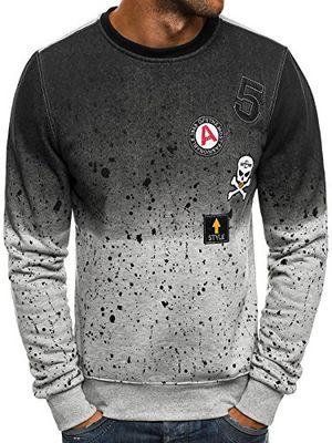 Angebote für -ozonee herren sweatshirt langarmshirt sweatjacke motiv pullover aufdruck pulli jstyle dd13