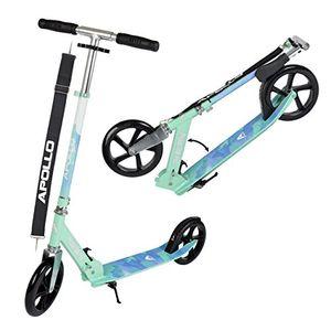 apollo xxl wheel scooter phantom pro city scooter klappbarer city roller höhenverstellbar tret roller für erwachsene und kinder