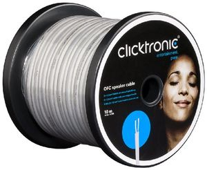 photos of Clicktronic Casual OFC Lautsprecherkabel (2x 1,5mm², 20m) Bestes Angebot Kaufen   model CE