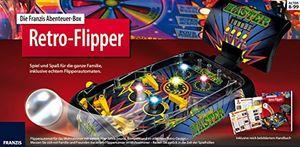 deals for - die franzis abenteuer box retro flipper spiel und spaß für die ganze familie inklusive echtem flipperautomaten