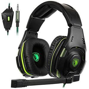 deals for - 2017 newest sades sa 938 multi plattform ps4 gaming headset wired over ear kopfhörer mit mikrofon revolution für ps4 new xbox one pc mac laptop ipad ipod neuen schwarz