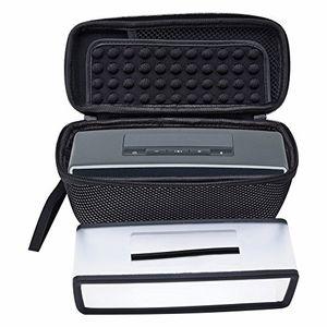poschell reise lautsprecher kasten mit transparentem soft cover für bose soundlink mini 1 und 2 mini bluetooth lautsprecher